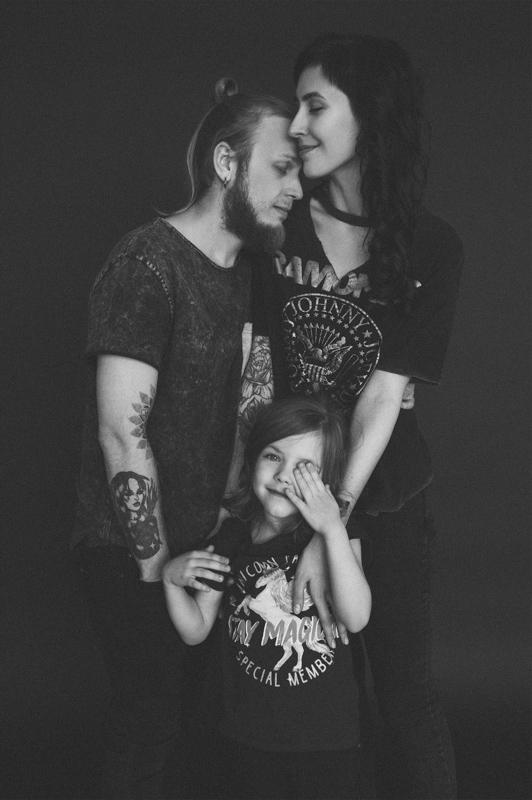Семейная фотосессия Паша, Божена и Эмма-Мишель 12