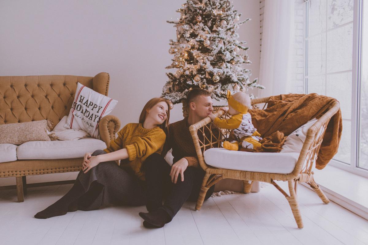 Семейная фотосессия Юра, Вика и Альбина 01