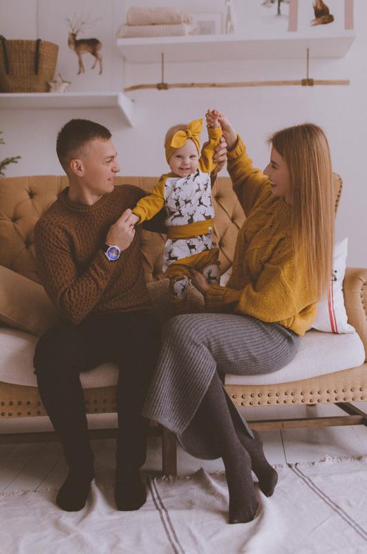 Семейная фотосессия Юра, Вика и Альбина 02