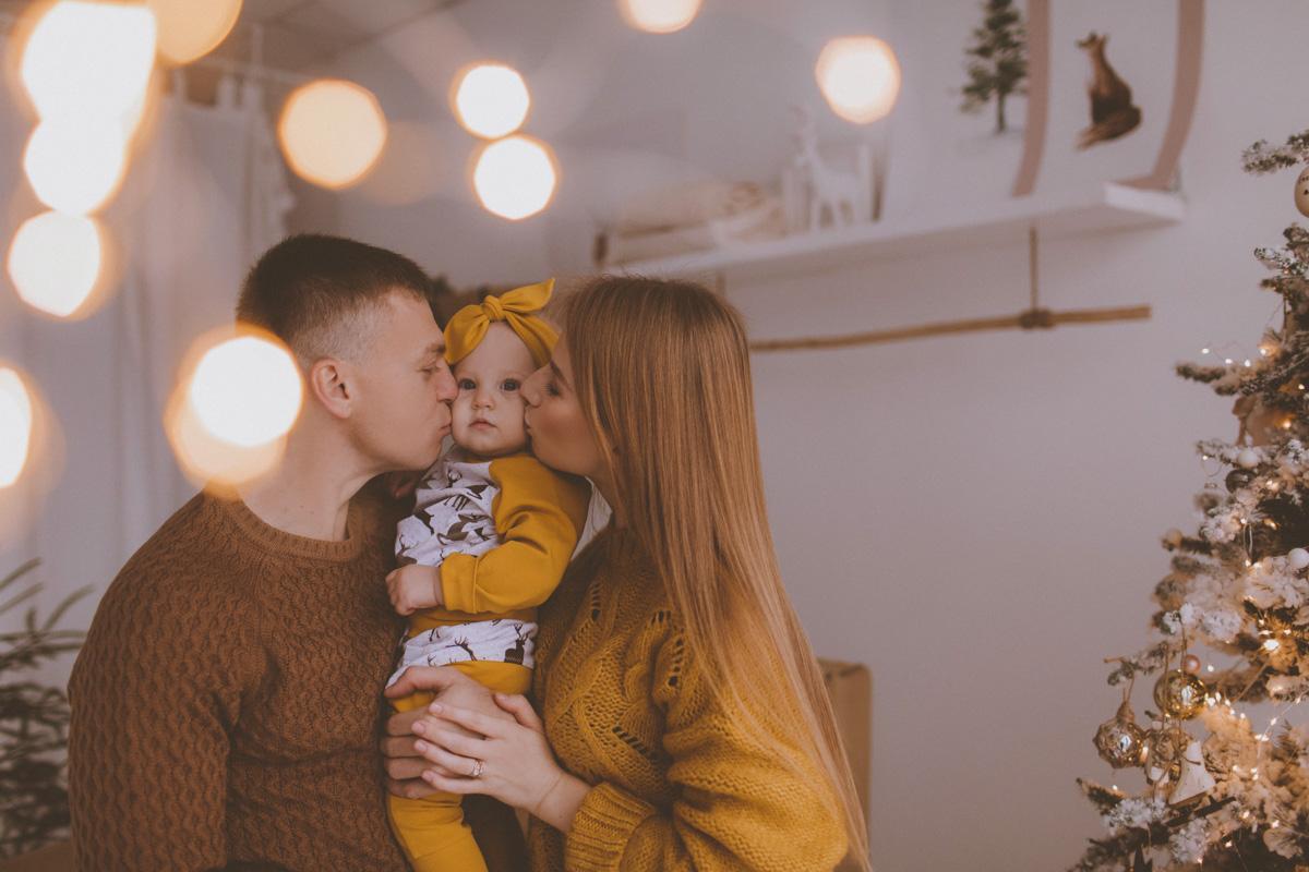 Семейная фотосессия Юра, Вика и Альбина 04