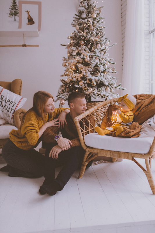 Семейная фотосессия Юра, Вика и Альбина 10