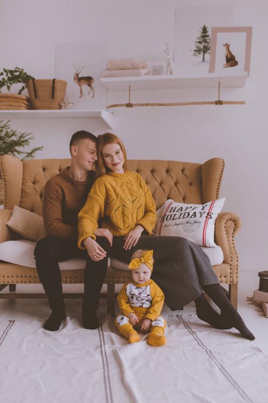 Семейная фотосессия Юра, Вика и Альбина 13