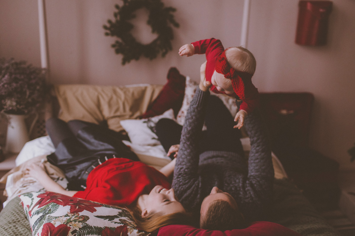 Семейная фотосессия Юра, Вика и Альбина 18