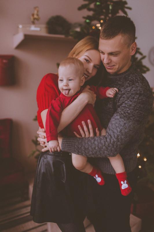Семейная фотосессия Юра, Вика и Альбина 20