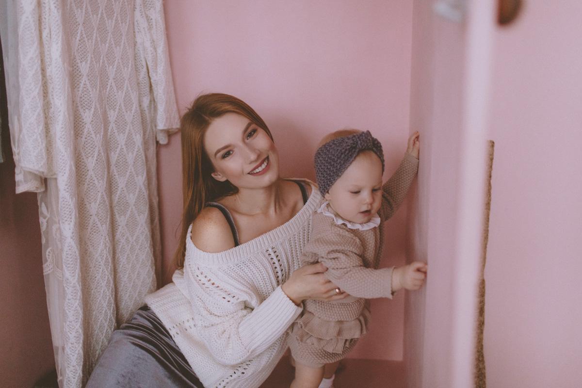 Семейная фотосессия Юра, Вика и Альбина 25