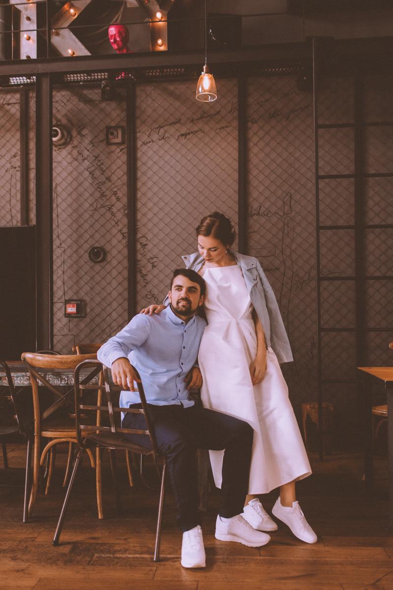 Свадебная фотосессия Женя и Маша 23